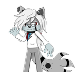 Commission Draw :: Rei Sonic Adventure Colour :: by FubukiFrost01