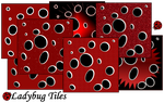 Ladybug Tiles by allison731