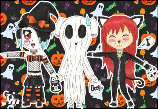.:Happy Belated Halloween 2013!:. by CandyDeathMachine