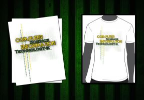 T-shirt for CSIT front by cannieshane
