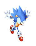 Toei Sonic Classic Render_2 by tripplejaz