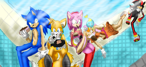 Omg Official Charas wow by KamiraCeeker
