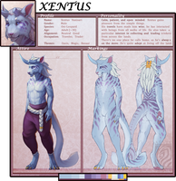 Xentus [Reference Sheet] by Aevix