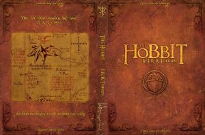 The Hobbit Book Cover by trongtuan91