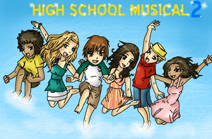 High School Musical 2 by Weehe