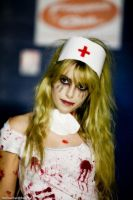 Zombie nurse by Lily-on-the-moon