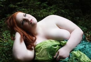 BBW in the woods by KuLLerMieTze