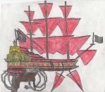 Treasure Planetized  Black Sails Walrus by Edward-Smee