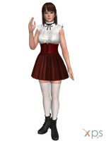 DOA5 Leifang Costume 59 High Society by rolance