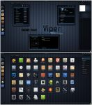 GNOME Shell - Viper by half-left