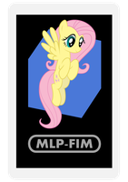 AR Character Card: Fluttershy by EROCKERTORRES