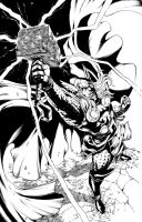Thor by Inker-guy