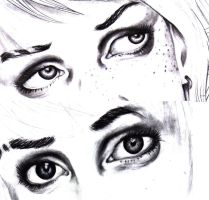 Unfinished Eyes by Ooha