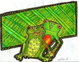 Frogs by Miss-Chili