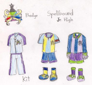 IN11 OC: Spellbound Badge and Kit by Gintokichan