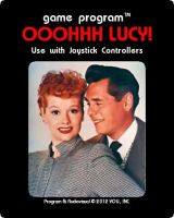 I Love Lucy Atari Label by FluidGirl82