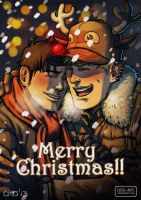 Merry Christmas 2013 by Cris-Art
