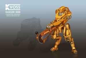 Ranger 3000 Construction Robot by MikeDoscher