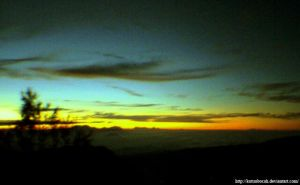i saw sunrise at bromo by kutuubocah