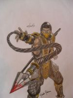 Scorpion by MegaGirl16