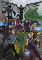 Assemble!! by ArtiePants93