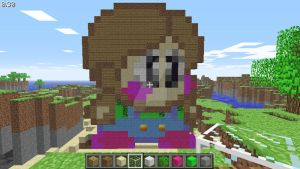 Bub human (Bubby) (Bubble Symphony) in Minecraft by superslinger2007