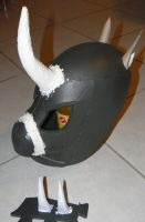 building a Changling Helmet version 0.7 by Znegil