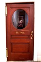Private door stock by paintresseye