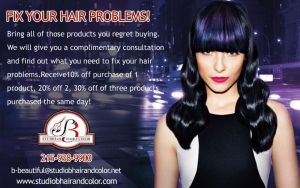 Fix Your Hair Problems, Receive $10, 20 or 30 % of by Studiobhaircolor