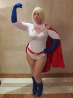 Power Girl by Blueberry-Tale