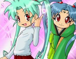 Sasami and Sasami WTF by sseanboy23