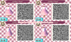 QR Code: Candie's Dress by Sugary-Stardust