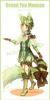 Green-tea Mousse Auction (Closed) by AQUA-Bunni
