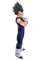 Ultimate Vegeta by brolyeuphyfusion9500