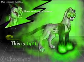 :CE: This is 14111... by SilverSheCat