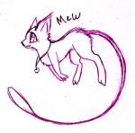Mew ^^ by FuneralDyingheart