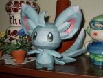 Minccino Papercraft by Sabi996