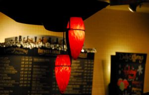 Red Lamp by ajithrajeswari