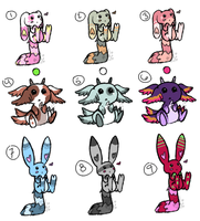 Critter Batch 04 {CLOSED} by TechSupportGirls