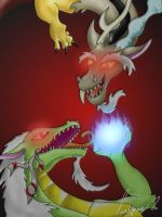 Discord and Fraskis by Golden-Freddy-1337