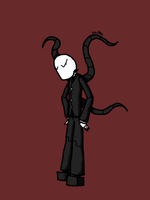 PastaBot: Slenderman by RoboSquid