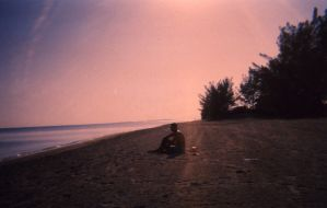 Shoreside, the Boy by enigmotion