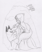 Day 1 Little Red Riding Hood by miggea