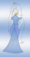 Ice Queen's [New] Gown by IceQueenRocks