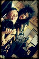 Sammi and Jinxx by JadeWeirdo13