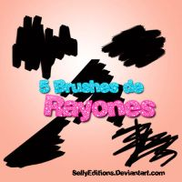 Brushes de Rayones by SellyEditions