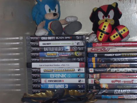 MY PS3 GAME COLLECTION by CureCrysisAlex