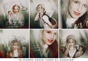 dianna agron icons. by itsjustdestiny