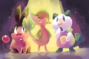 Choose Your Pokemon! by sweating