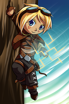 Ezreal by michelle192837